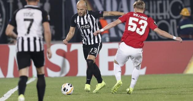 As it happened: Partizan Belgrade v Man United, Europa League