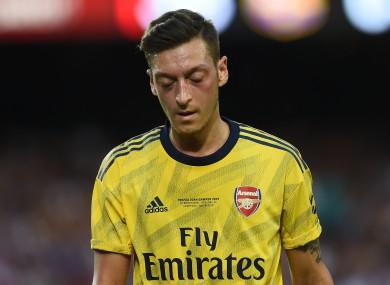File photo of Mesut Ozil.