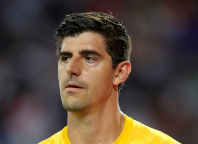 Thibaut Courtois (file pic).