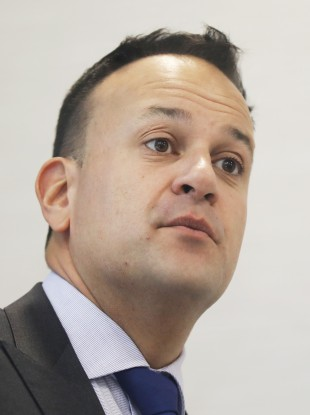 Taoiseach and Fine Gael leader Leo Varadkar