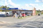 The petrol station in Ballynahinch.