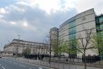 Laganside Crown Court in Northern Ireland.