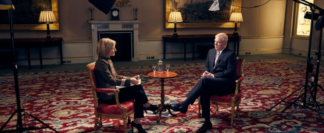 Andrew was interviewed by Emily Maitlis
