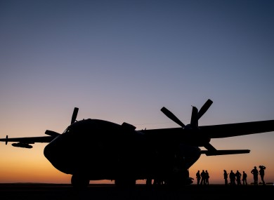 German Armed Forces at an air base (file photo)