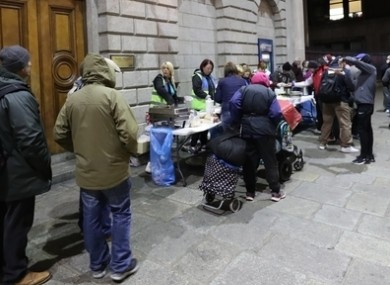 This is the worst homelessness crisis in living memory, Focus Ireland has warned.