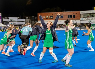 Ireland prevailed after an epic shootout to defeat Canada.