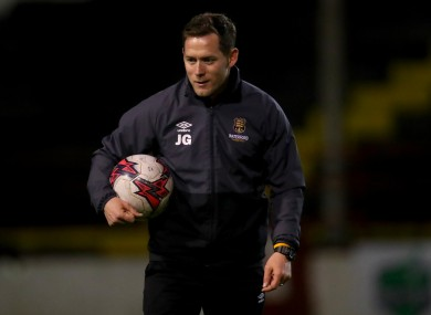Joe Gamble was recently working with Waterford FC.