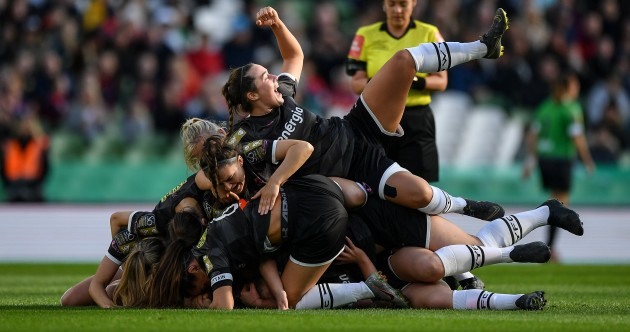 As it happened: Peamount United v Wexford Youths, 2019 Women's FAI Cup final