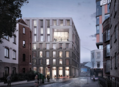 An artist's impression of the proposed development in Dublin 8