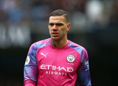 Ederson (file photo.)