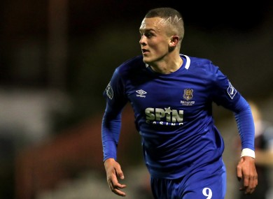 Michael O'Connor spent time on loan at Waterford this season.