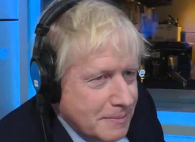 Boris Johnson on BBC Radio 5 this morning.