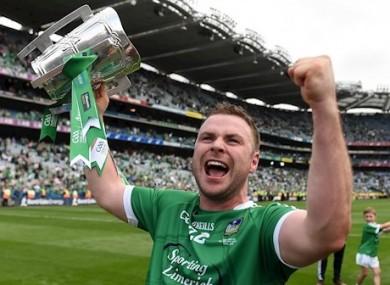 Richie McCarthy celebrating the 2018 All-Ireland win.
