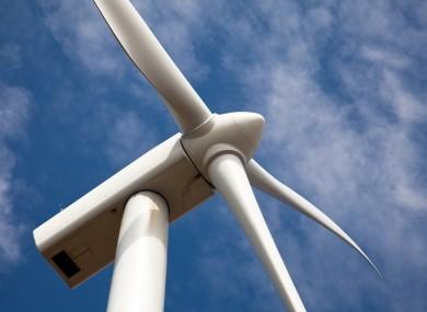 File photo of a wind turbine