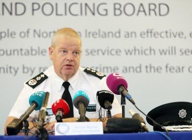 Northern Ireland's police chief Simon Byrne
