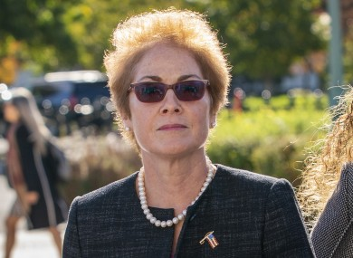 "Former American ambassador to Ukraine, Marie ""Masha"" Yovanovitch, testified to the House."
