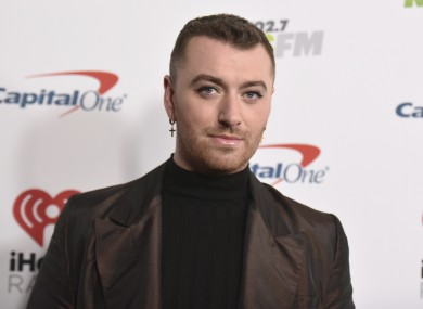 Singer Sam Smith