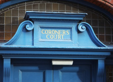File image of a coroner's court.