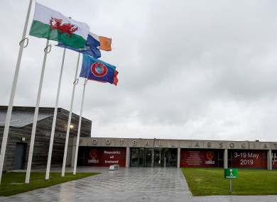 A view of FAI HQ in Abbottstown.