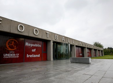 A view of FAI HQ in Abbotstown earlier this year (file pic).