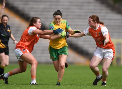 Donegal and Armagh contested the final last year.