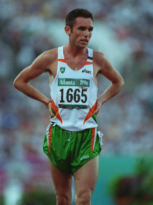Niall Bruton pictured during the 1996 Olympic Games in Atlanta.