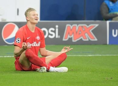 Erling Haaland has attracted attention throughout Europe.