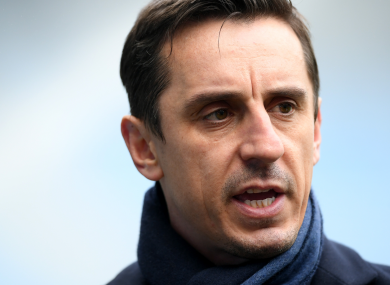 Gary Neville (file pic).