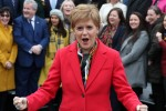 Sturgeon says the SNP's good showing at the election means a new referendum must be called.