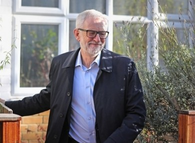 Labour Party leader Jeremy Corbyn is under pressure after the party's wipe-out at the general election.