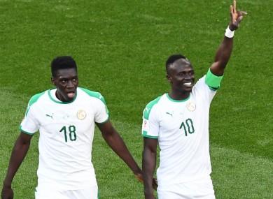 Ismaila Sarr and Sadio Mane both represent Senegal.