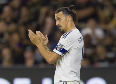 Zlatan Ibrahimovic last played for LA Galaxy.