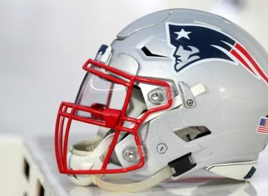 NFL Super Bowl champions the New England Patriots.