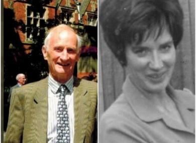 John Eldred (left) and Anastasia Thompstone.