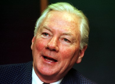 Gay Byrne pictured in 1998
