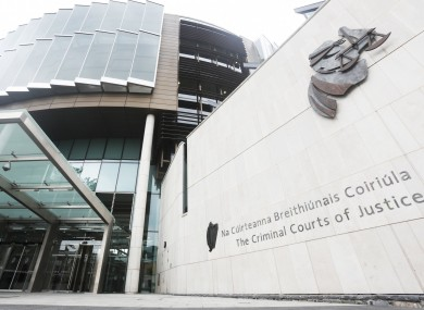 File photo of the Criminal Courts of Justice in Dublin.