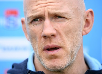 Tandy: Townsend's new assistant coach at Scotland.