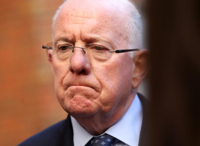 Fine Gael Minister for Justice and Equality Charlie Flanagan