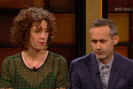 Meabh and Sebastian Quoirin speaking on RTÉ One's Late Late Show last night