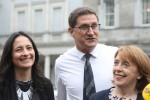 Green Party leader Eamon Ryan, and the Soc Dems' Roisin Shortall.