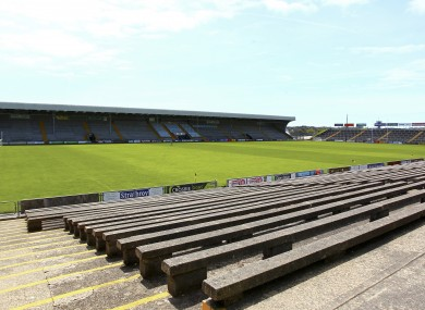 A general view of Chadwicks Wexford Park.
