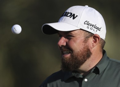 Lowry is bidding for back-to-back wins in Abu Dhabi.