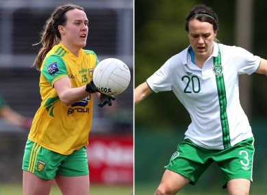 Ciara Grant has excelled in two footballing codes.
