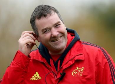 Munster legend Anthony Foley.