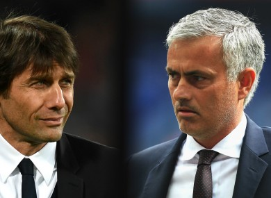 Jose Mourinho and Antonio Conte have had a strained relationship at times.