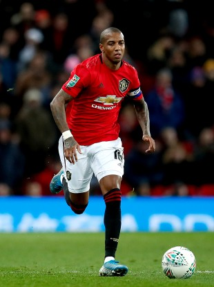 Ashley Young (file pic).