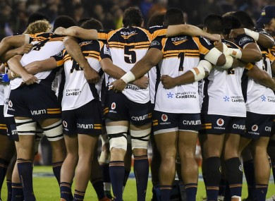 Super Rugby side the Brumbies.