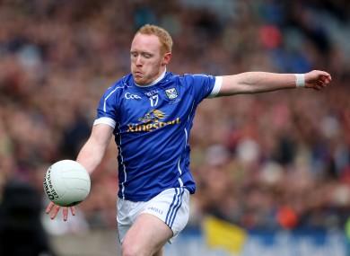 Mackey in action for Cavan in 2016.