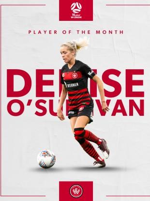 POTM: Cork's Denise O'Sullivan.