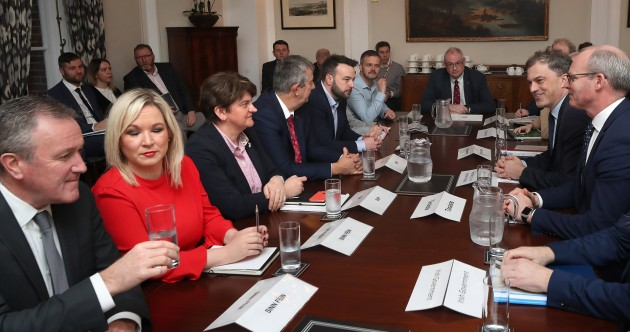 Day two of Stormont talks rumble on - but Sinn Féin is confident it will secure Irish language support